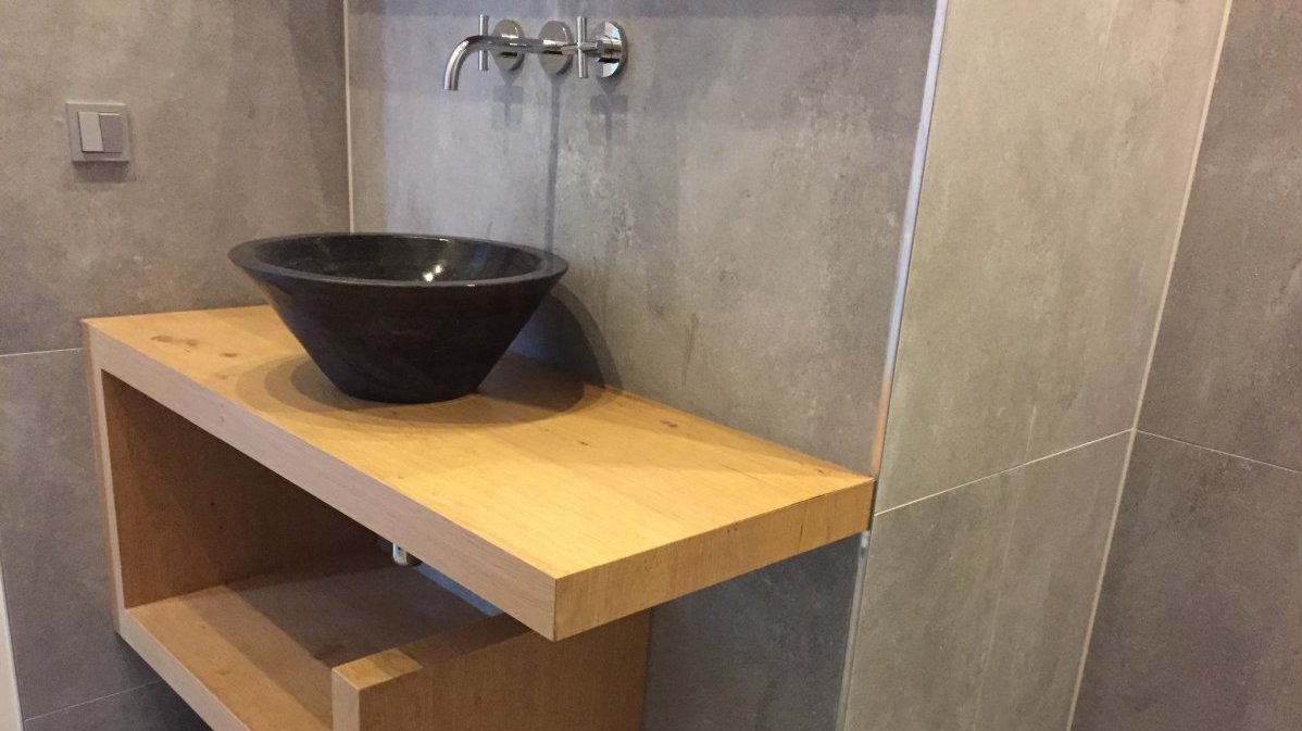 Badkamermeubel Op Maat : Badkamermeubel op maat