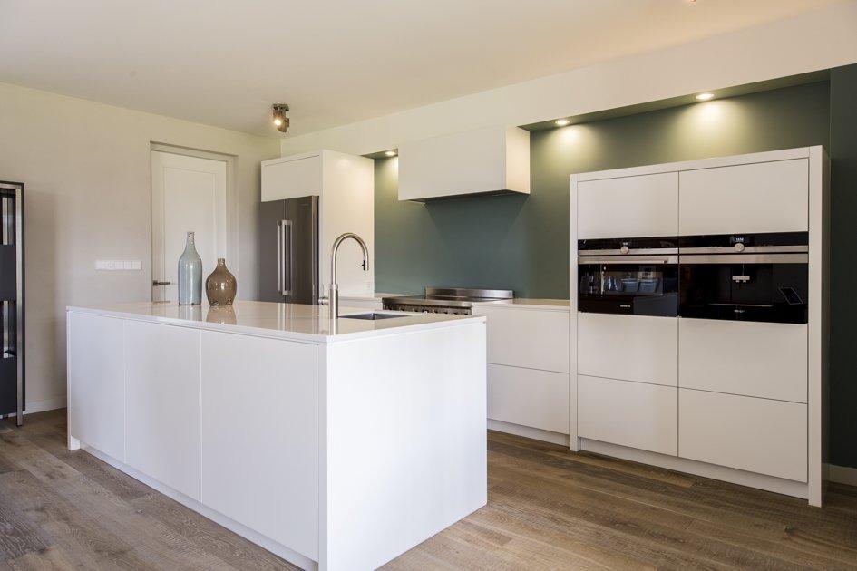 Design Keuken Met Groene Muur